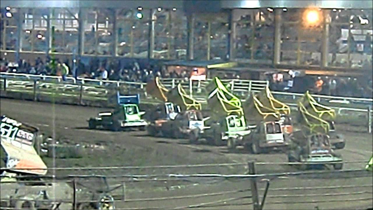 F1 Stock Cars Belle Vue 23rd March 2014