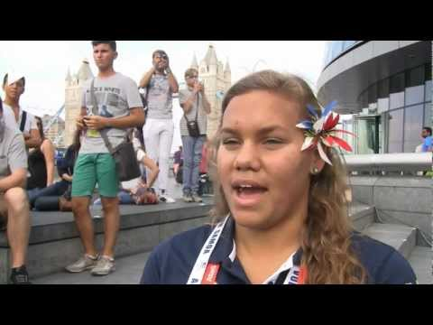 American Samoa On Life in the Athletes Village