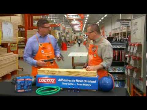 Osi Loctite Super Glue For Pros The Home Depot Youtube
