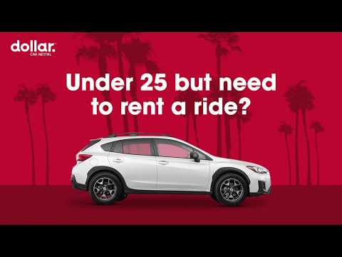 Rental Cars For Drivers Under 25 | Dollar Car Rental