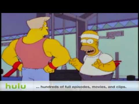 The Simpsons - What's A Gym