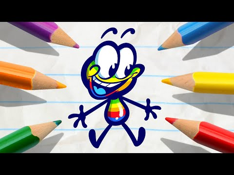 Pencilmate's New PEN?!| Animated Cartoons Characters | Animated Short Films | Pencilmation