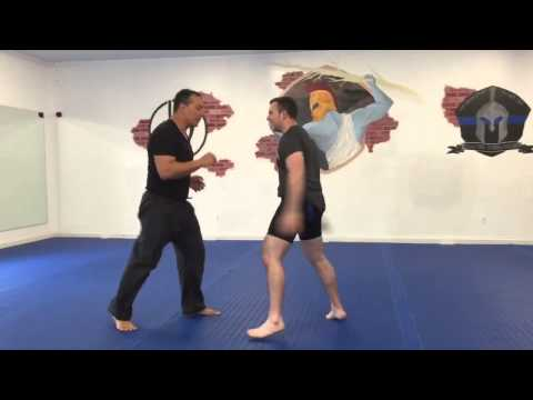 Diamond MMA Co-Founder Cup Test With Krav Maga Expert, Amir Perets