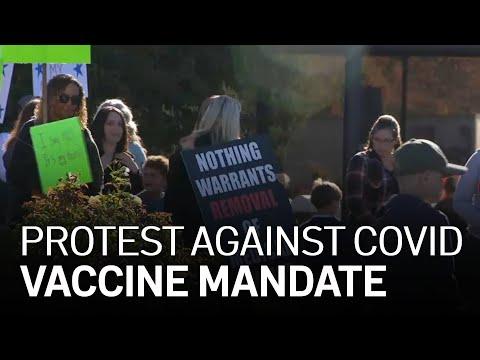 Parents Protest California COVID-19 Vaccine Mandate for Kids