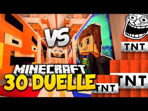 Team PALUFFEL VS GOMFREAK! - Minecraft 30 DUELLE #1 [Battle]