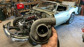 Triumph Supercharged Engine Swap 200+ HP