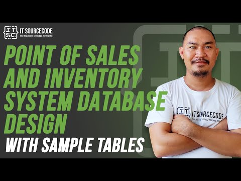 Point Of Sales And Inventory System Database Design With Sample Tables 2020 Project Youtube