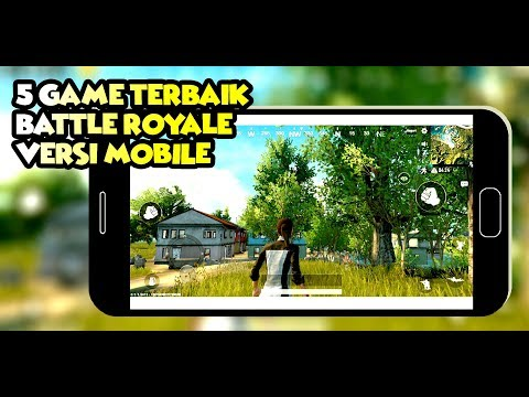 5 GAME BATTLE ROYALE MOBILE ANDROID - iOS TERBAIK GRATIS 2018! - 동영상