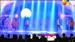 Shahroz Sabzwari & Sohai Ali Abro Malang Performance - Servis 2nd HUM AWARDS 2014