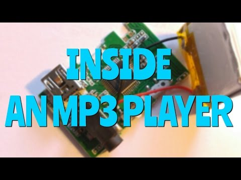 What's Inside An MP3 PLAYER?