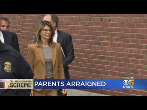 Parents Arraigned In College Admissions Scandal thumbnail