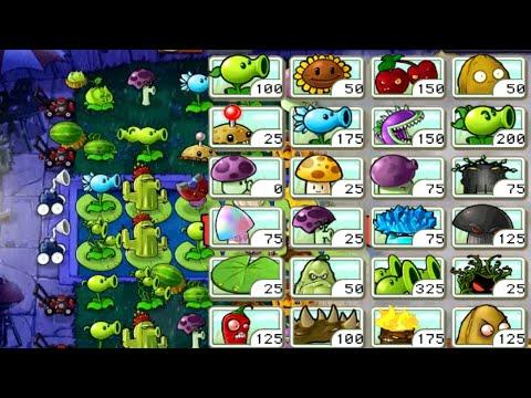 RANDOM Seed Rain?!   Random Plants vs Zombies