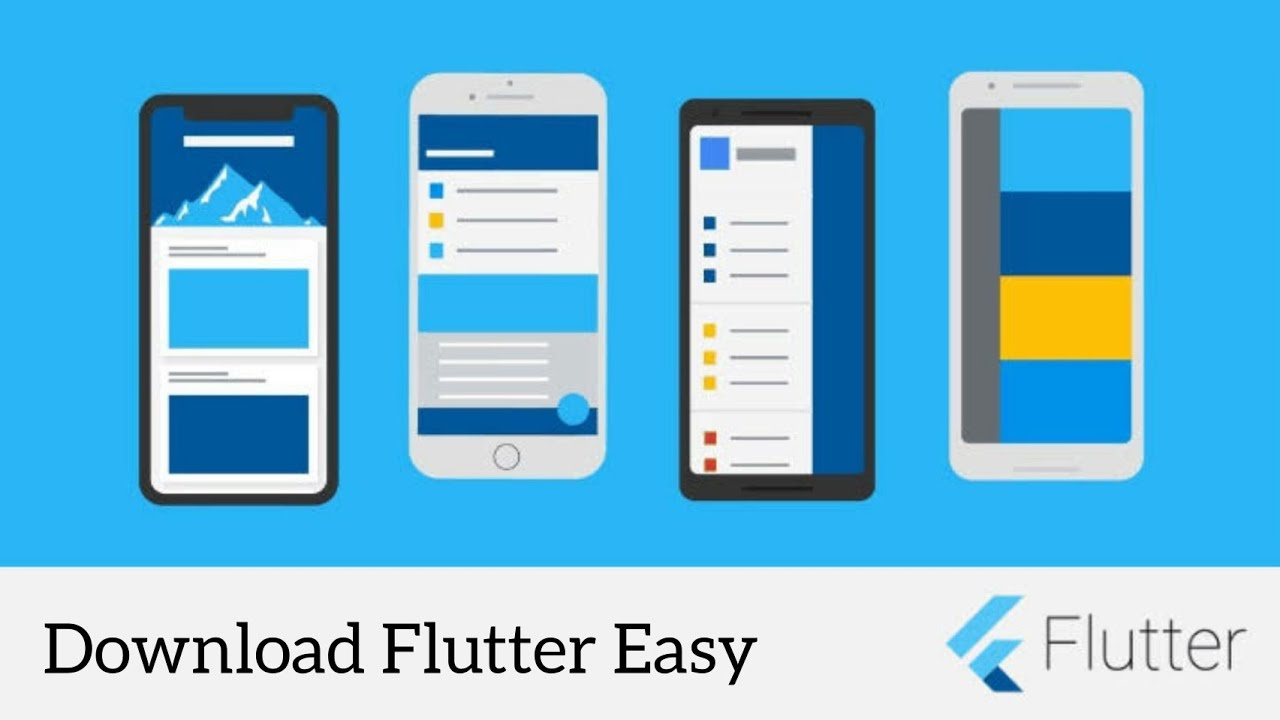 Flutter Easy - An App to Learn Latest Flutter Components & Features   Flutter