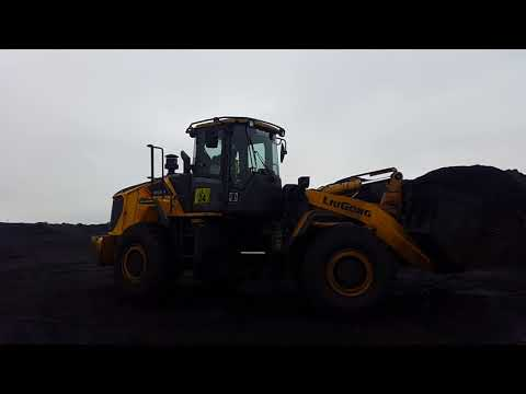 LiuGong 856H Wheel Loaders in Coal Mines South Africa