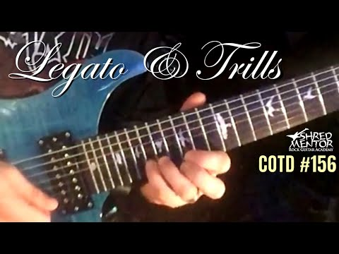 Legato & Trills | ShredMentor Challenge of the Day #156