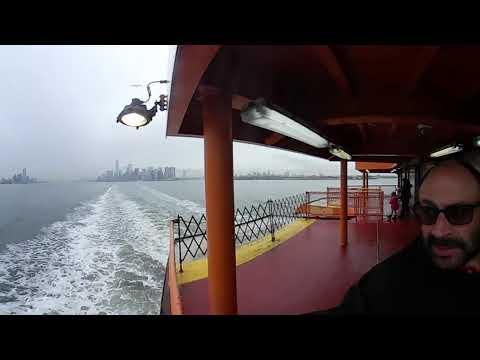 TRIP TO STATEN ISLAND FERRY(1/2) 360 Video!!