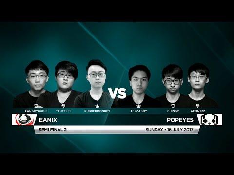 Eanix Vs Popeyes • Vainglory 8 • Southeast Asia • Summer Split 1, Week 4, Semi Final 2