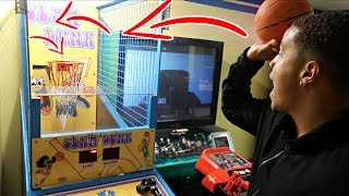 Arcade hack: how to win basketball arcade game every time!! (100% jackpot win rate)