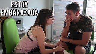 BROMA A MI NOVIO: ESTOY EMBARAZADA | Lyna Vlogs