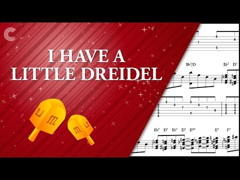 Piano - I Have a Little Dreidel - Hanukkah Song - Sheet Music, Chords, & Vocals
