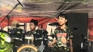 PAPUA D.O.D band anak-anak - Cinta 1 Malam.