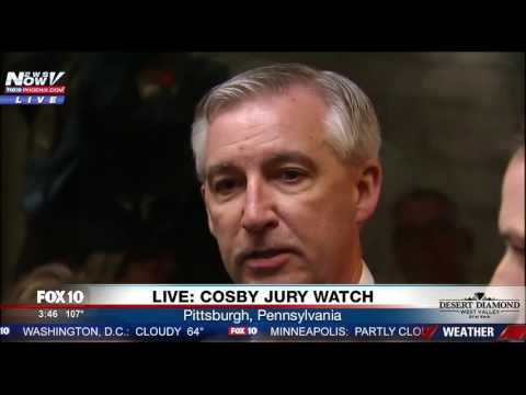 WATCH: Attorneys Speak After Jury Is Selected For Bill Cosby Trial (FNN)