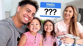 Download BABY NAME REVEAL!!! **IS THE ACE FAMILY NAME CHANGING?** Mp3 and Videos
