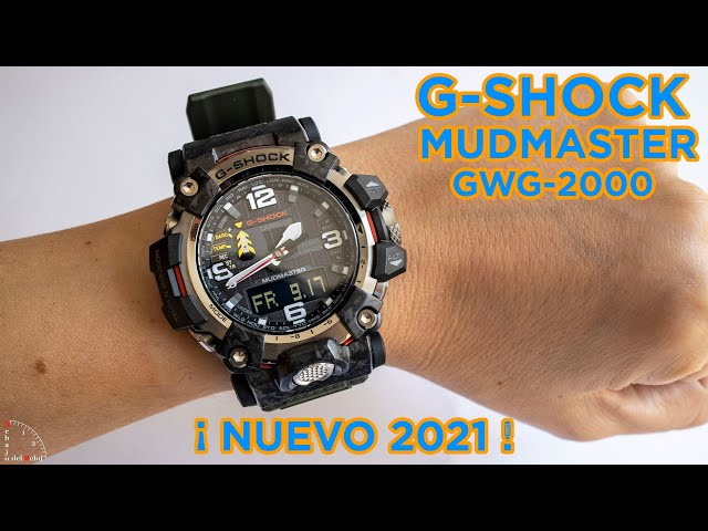 G-Shock Mudmaster GWG-2000 en la muñeca