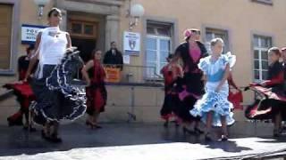 """Viva España"" danse espagnole ""Fête des Rues"" Kingersheim flamenco"