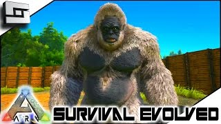 ARK: Survival Evolved - GIGANTOPITHECUS TAMING TIME! S3E41 ( Gameplay )