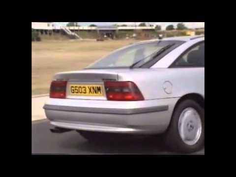 Old Top Gear 1990 - Vauxhall Calibra Coupé