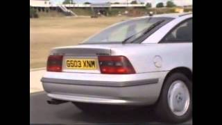 Old Top Gear 1990 - Vauxhall Calibra Coupé