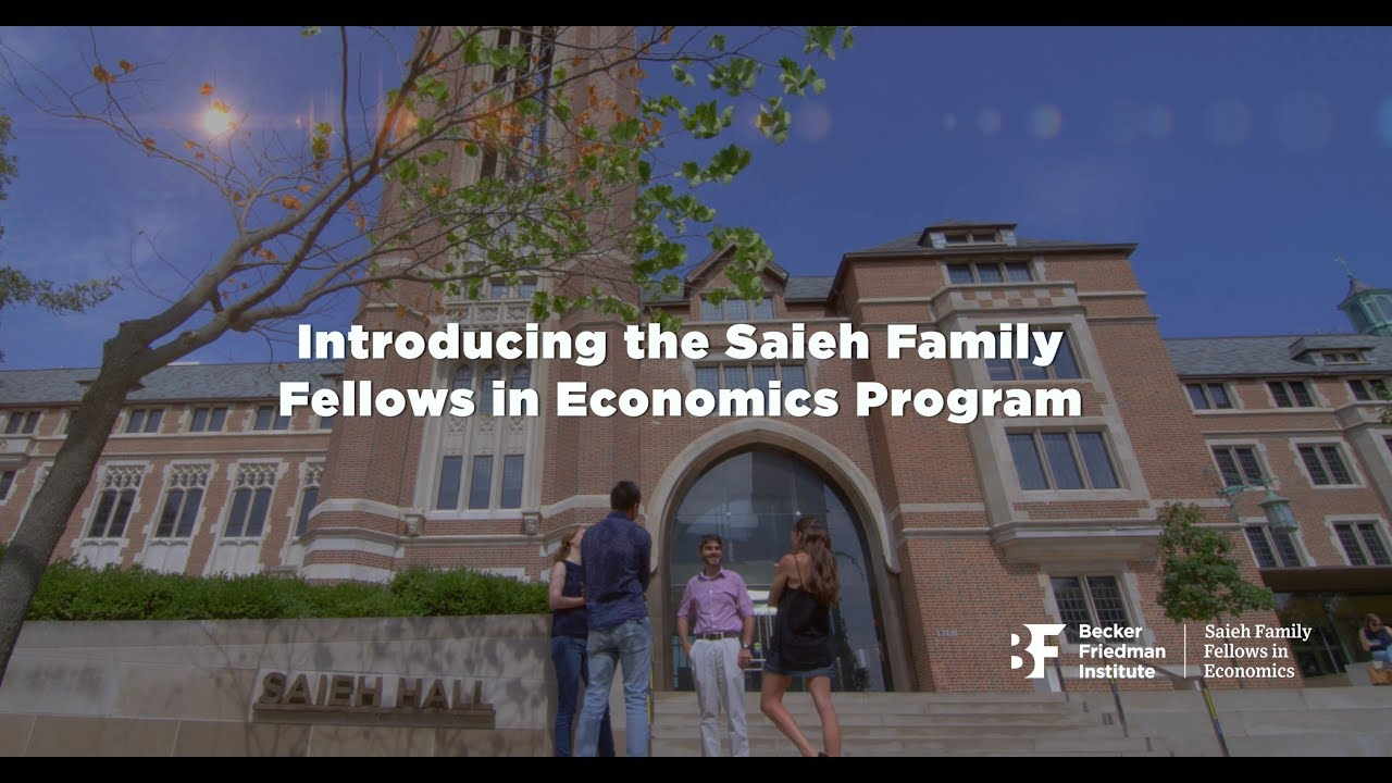 Introducing the Saieh Family Fellows in Economics Program