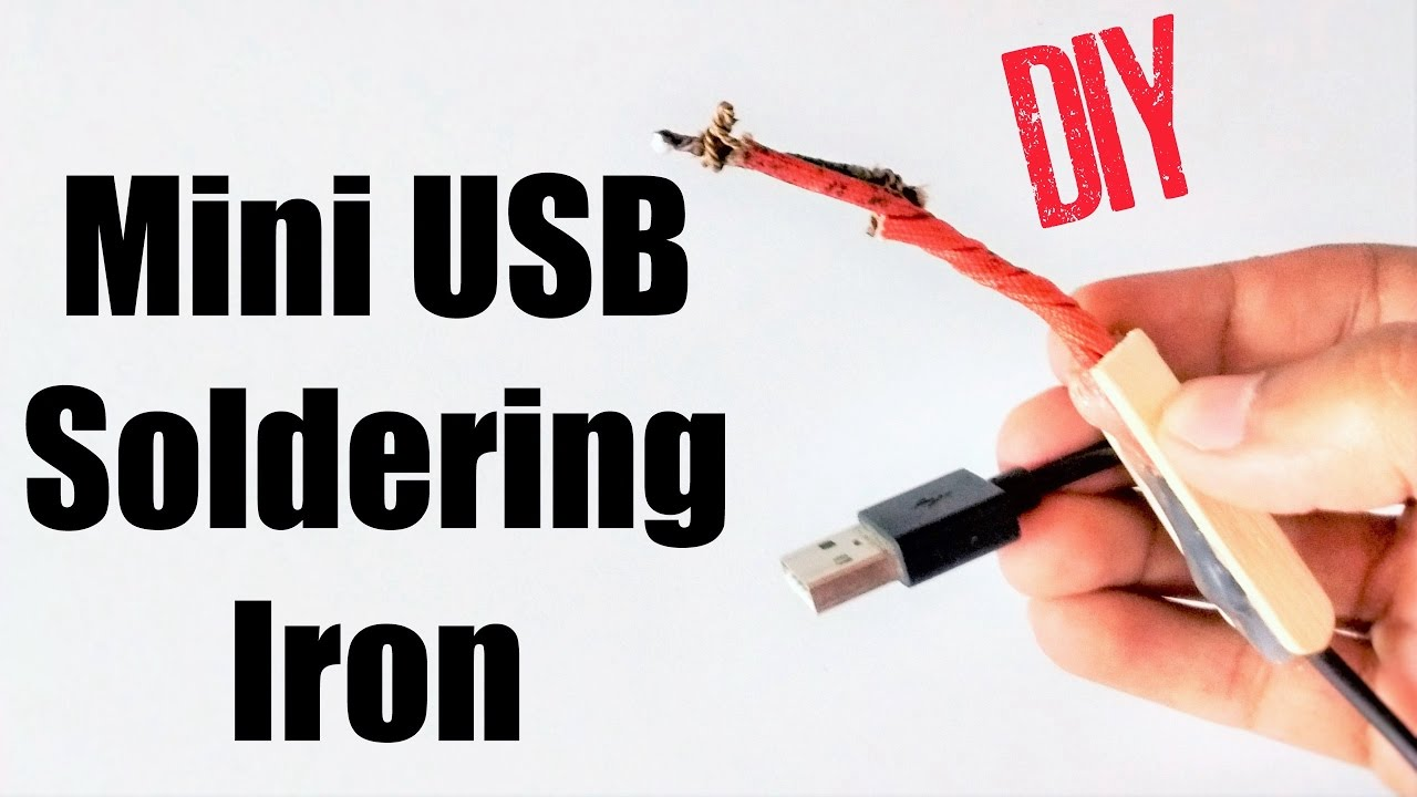 how to make a usb soldering iron youtube. Black Bedroom Furniture Sets. Home Design Ideas