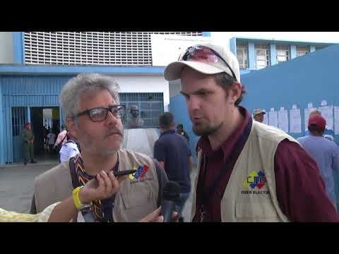 Acompañantes internacionales destacan eficiencia en desarrollo de comicios en Caracas