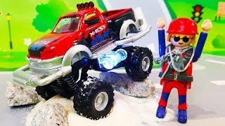Мультики про машинки. Новые крутые игрушки в мультике – Огромная машина. Лего мультфильмы для детей