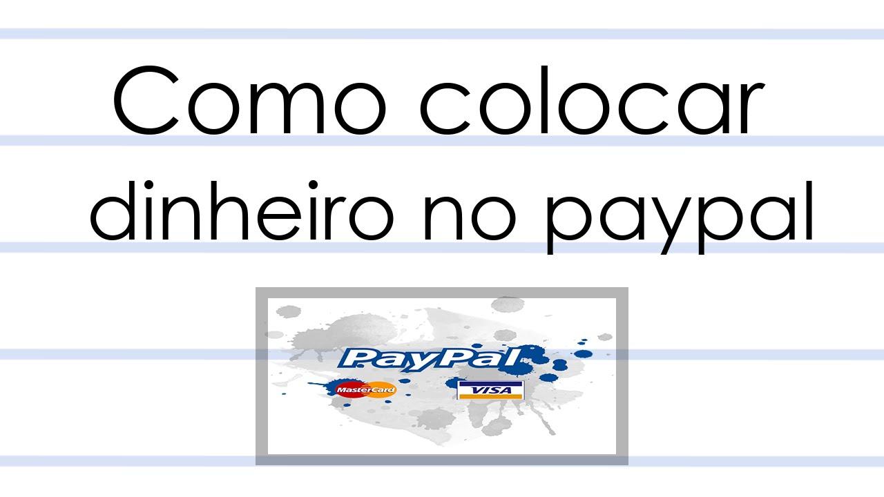 Carregar paypal com paysafecard