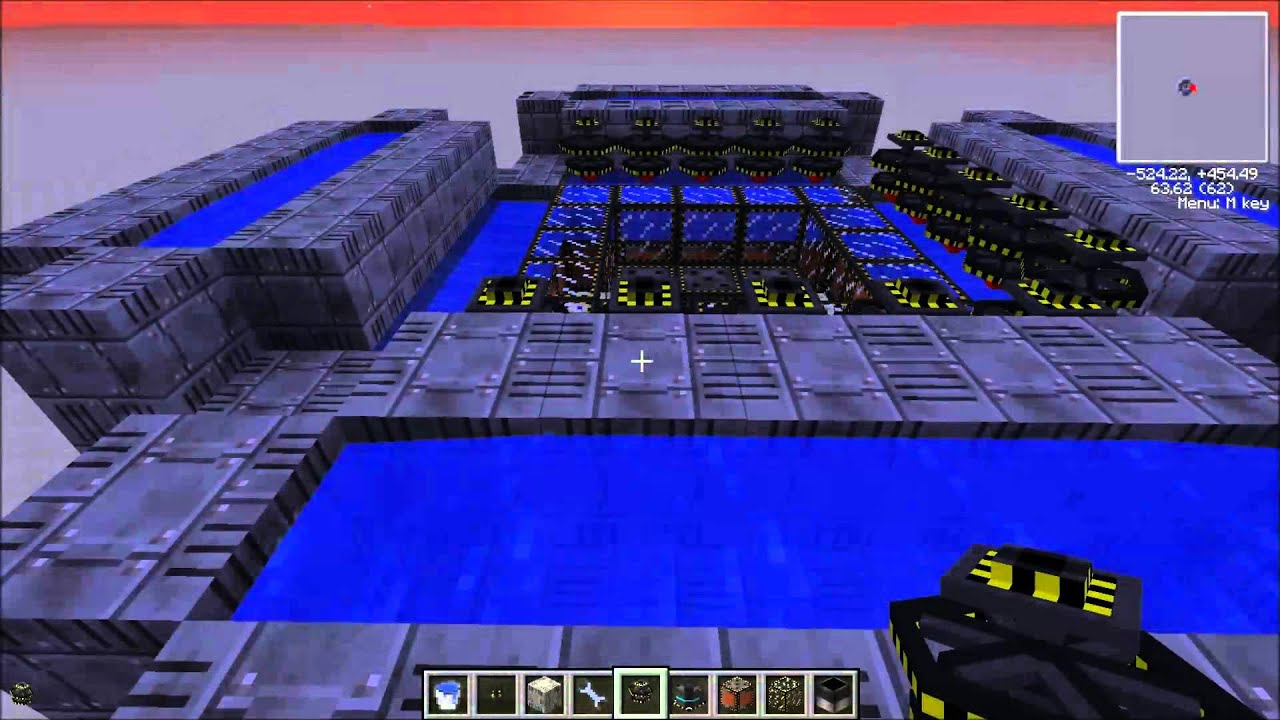 Outdated] Minecraft: Atomic Science Fusion Reactor Tutorial - YouTube