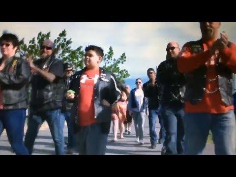 Bullied Nova Scotia boy gets school escort of a lifetime