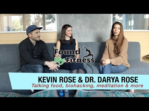 Dr. Darya and Kevin Rose Talk Meditation Retreats, Diet, Nat