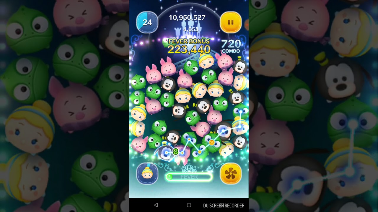 ツムツム シンデレラ スキル3 Androidで2200万超え Youtube
