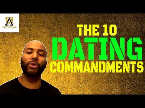 Alpha Male Strategies 10 Dating Commandments