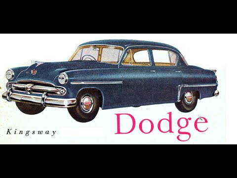 DODGE Kingsway 1954 is gone