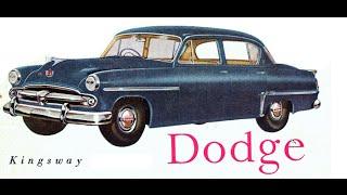 DODGE Kingsway 1954 is gone
