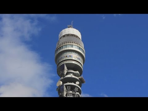 BT Tower - An exclusive inside look