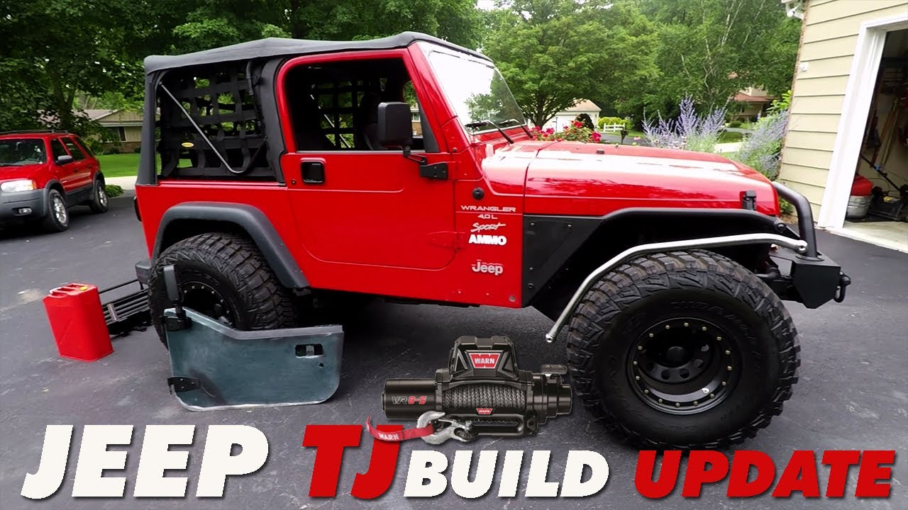 Jeep Wrangler Tj Build >> Jeep Tj Build Update What S Next Youtube