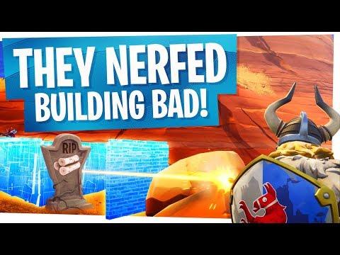 RIP BUILDING? - Fortnite Build Nerf