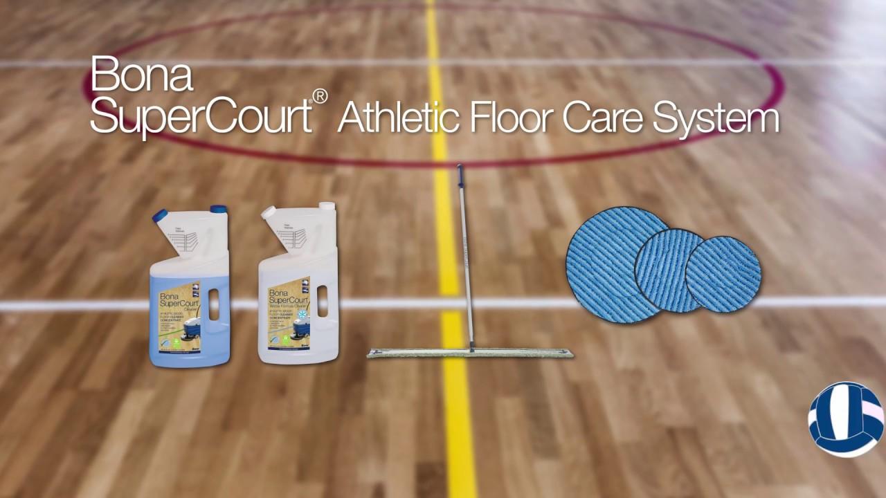 Wood Gym Floors With Bona