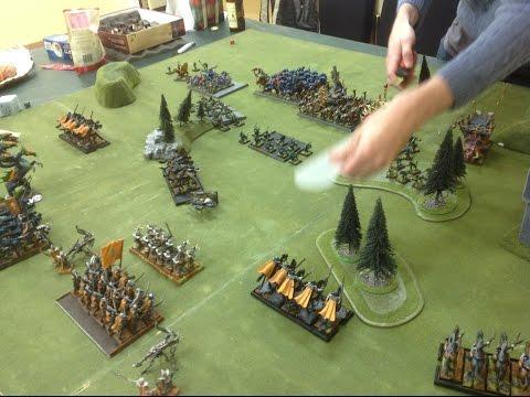 batrep # 44 Dark Elves v Lizardmen