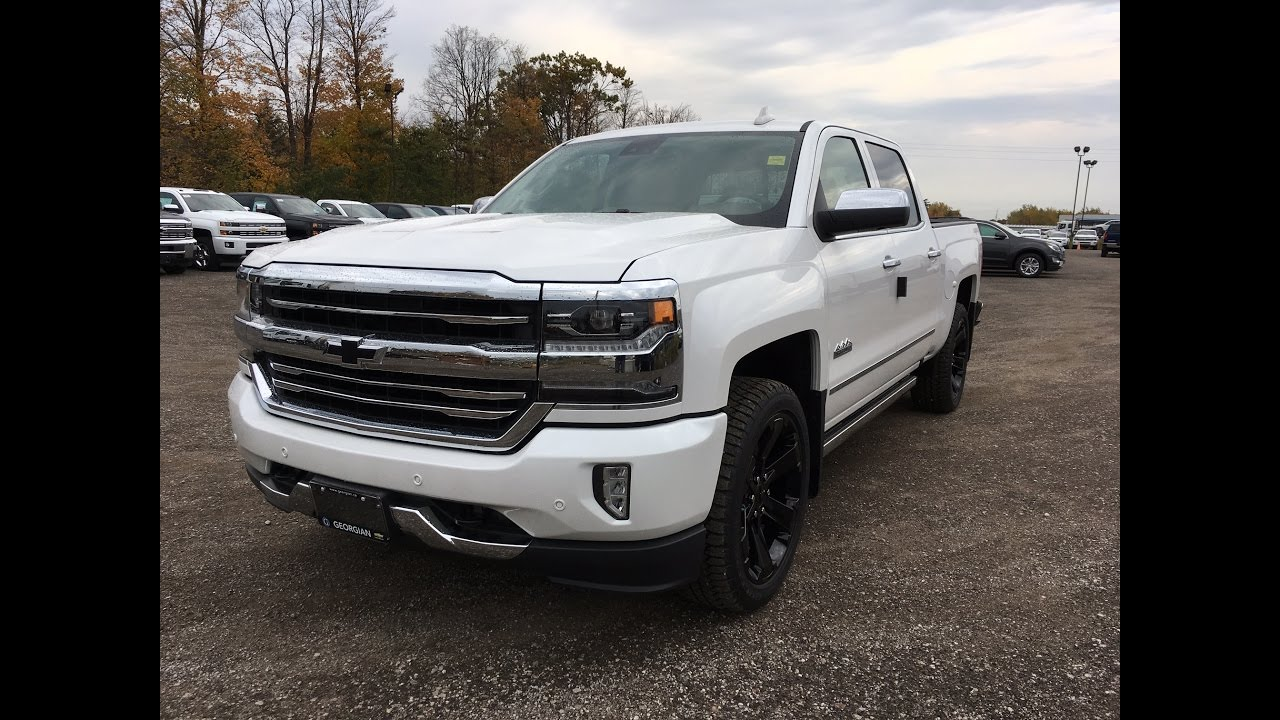 2017 chevrolet silverado high country 4wd youtube. Black Bedroom Furniture Sets. Home Design Ideas